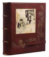 Альбом для фотографій в шкіряній палітурці Спогади, фото 1