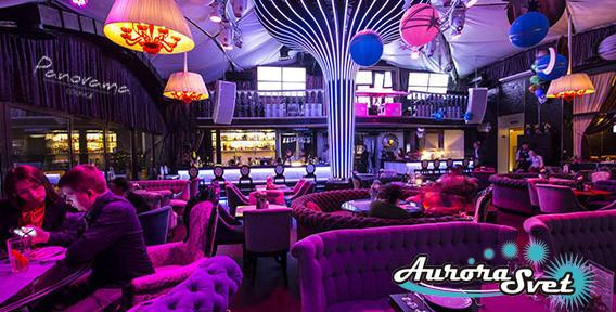 Освещение кафе, баров, ресторанов. LED освещение помещений. Светодиодное освещение.