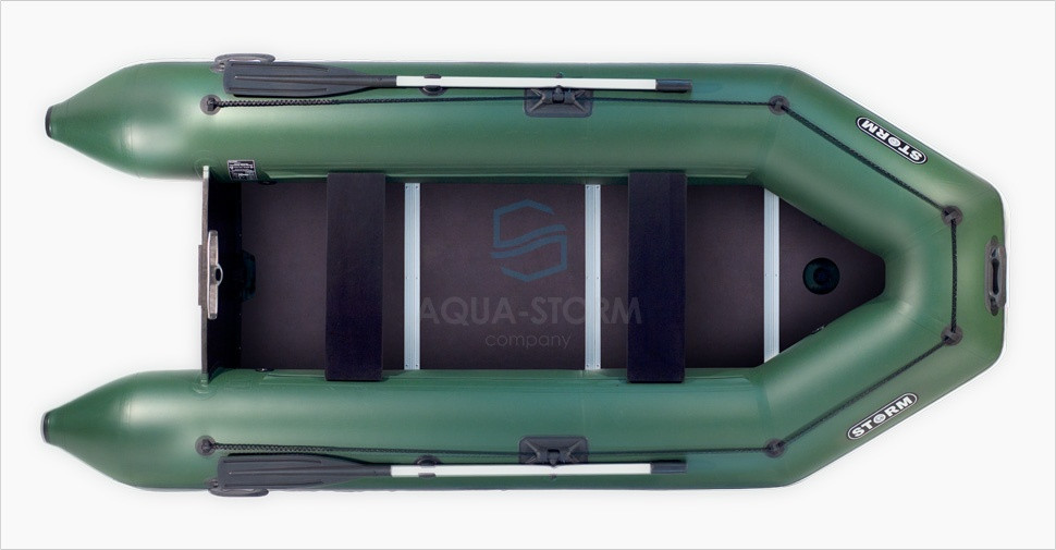 Моторная надувная пвх лодка STORM STК 380