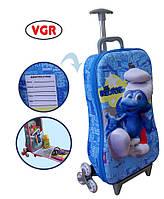 Детский дорожный чемоданчик VGR Гномики голубой