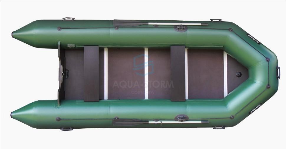 Моторная надувная пвх лодка STORM STК 420
