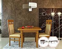 Стол обеденный с квадратной столешницей (Трансформер до 2м)
