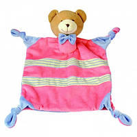 Игрушка платочек Bino - Медведь большой