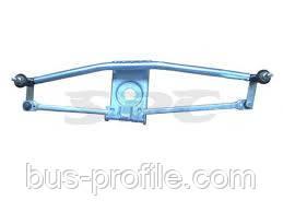 Привод стеклоочистителей (трапеция) на MB Sprinter, VW LT 1996-2006 — SPC (Турция) — 9018200081