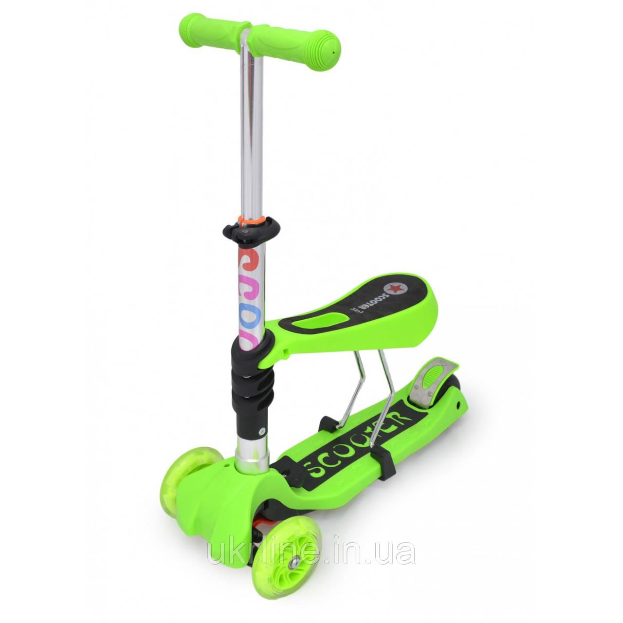 Детский самокат scooter 21st купить в минске трехколесный