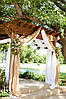 Оформление зала тканью на свадьбу , фото 2