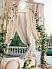 Украшение зала тканью на свадьбу , фото 3