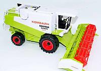 Инерционный игрушечный комбайн (8089)