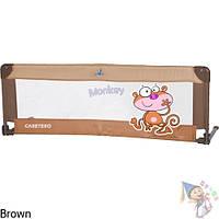 Защитная барьерка Caretero для кровати Brown