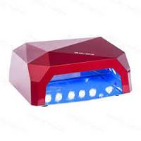 LED+CCFL Лампа для геля и гель-лака 36 W ( с двойным переходником)