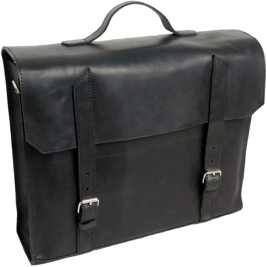 b6db76b9a6ba Кожаный портфель для мужчины Agruz 270516 черный — только ...
