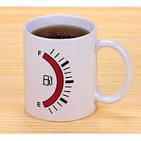 Чашка хамелеон бензоколонка