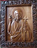 Икона резная Иоанн Предтеча (Креститель)