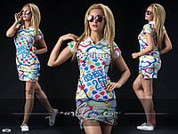 Платье поло лакост