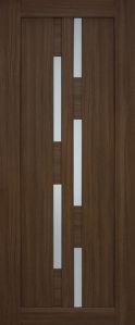 Двери Омис модель 08 серия Cortex Deco стекло ПЛ крема