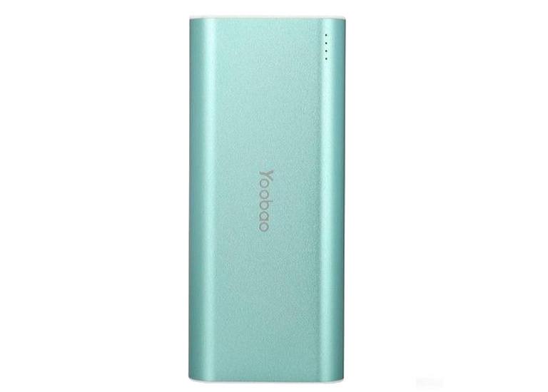 Портативное зарядное устройство Yoobao Power Bank 10000 mAh green