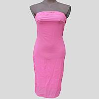 Платье женское летнее розовое