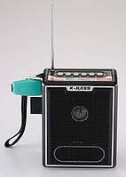 🔥✅ Радио - колонка NS-047 MP3 карта SD USB портативная колонка на аккумуляторе