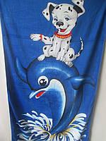 Пляжные полотенца с детским рисунком.