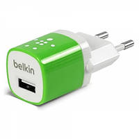СЗУ Belkin Home Charger 1 USB port (5 Watt / 1 Amp) зеленый блок питания