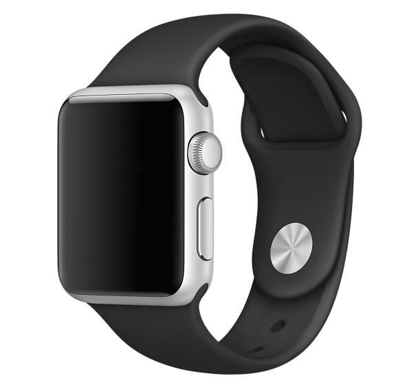 Спортивний ремінець Primo для Apple Watch 38mm / 40mm (S/M 110mm) - Black