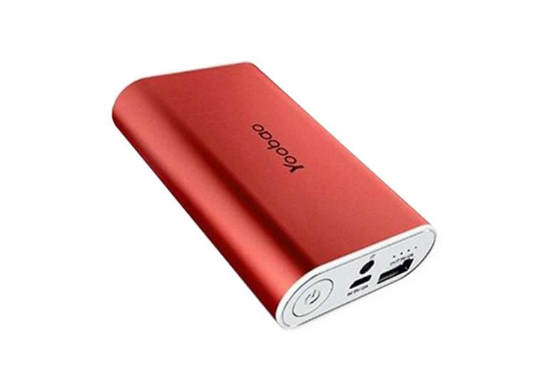 Портативное зарядное устройство Yoobao Power Bank 7800 mAh red
