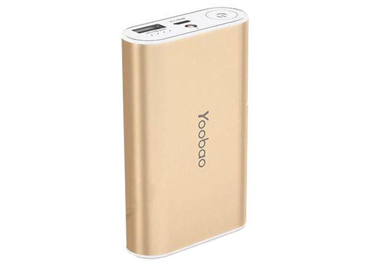 Портативное зарядное устройство Yoobao Power Bank 7800 mAh golden