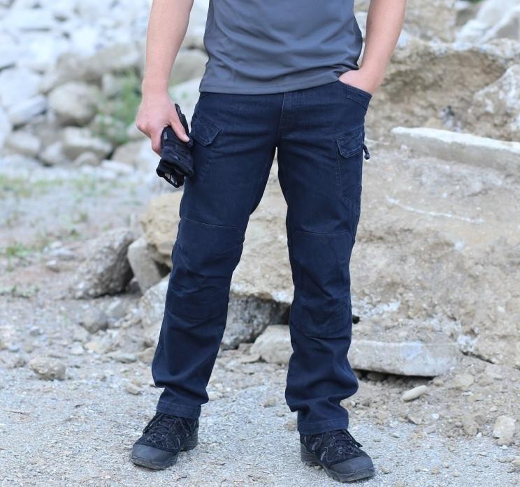 f21d2c696f0 Брюки тактические Helikon-Tex® UTP® Jeans - Denim Blue
