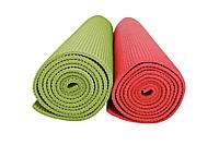 Коврик для йоги и фитнеса 4мм