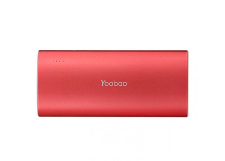 Портативное зарядное устройство Yoobao Power Bank 5200 mAh red