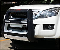 Защита переднего бампера Mitsubishi L200 2014-