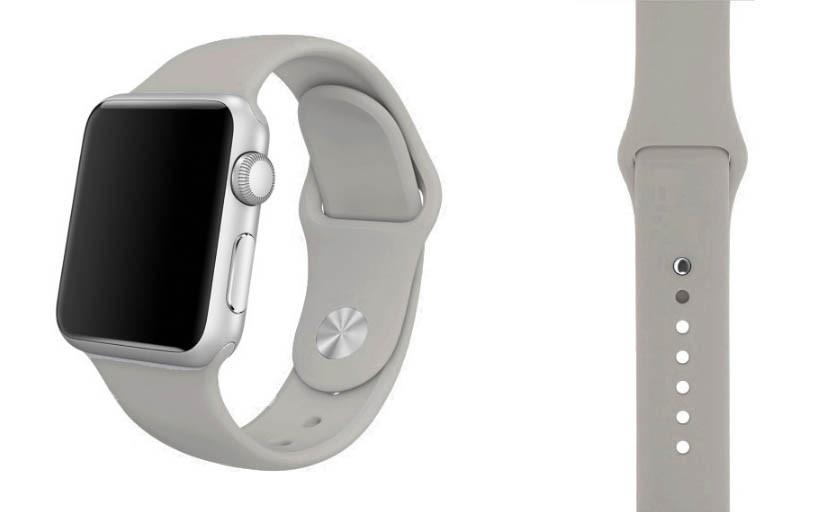 Спортивний ремінець Primo для Apple Watch 38mm / 40mm (S 110mm) Fog