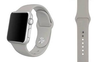 Спортивный ремешок Primo для Apple Watch 38mm / 40mm (130mm) Fog