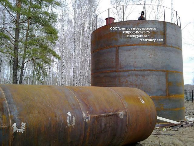 Изготовление и монтаж резервуар рвс-200