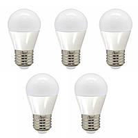 5шт Светодиодная LED лампочка LB-95 E27 5W 4000K