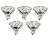 5шт LED лампочка LB-24 MR16 G5.3 3W 4000K