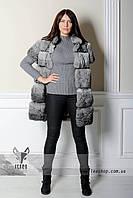 Жилетка из меха кролика в интернет-магазине leashop.com.ua
