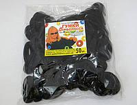 Резинка для волос - Калуш (50 шт), черная