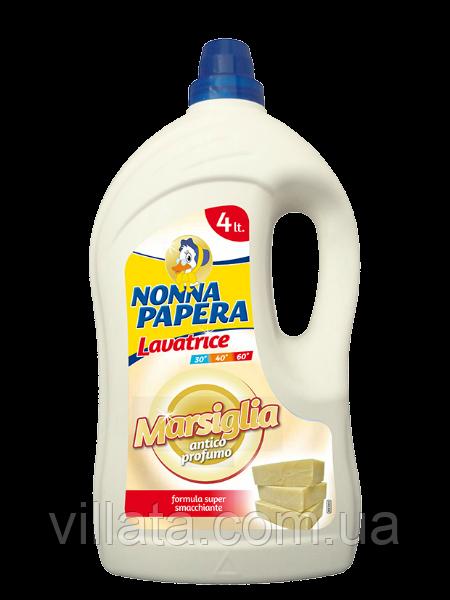 Гель для стирки Nonna Papera с марсельским мылом  4L 50 стирок