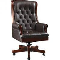 Кресло Линкольн кожа люкс коричневая
