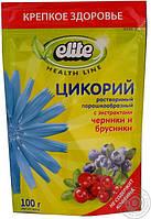Напиток Цикорий растворимый с экстрактом черники и брусники Elite, 100 гр