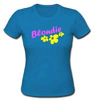 Футболка женская -  Blondie