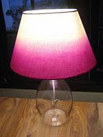 Стеклянная бутылка - как основа для настольной лампы