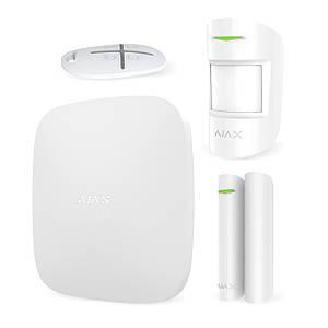 Комплект GSM сигнализации Ajax StarterKit (белый)
