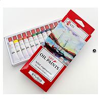 Набор масляных красок Студия 12х12мл, Santi  Великобритания