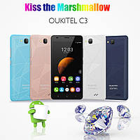Смартфон Oukitel C3 Light blue (1Gb/8Gb) Гарантия 1 Год!