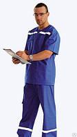 Костюм для работников скорой помощи мужской или женский летний