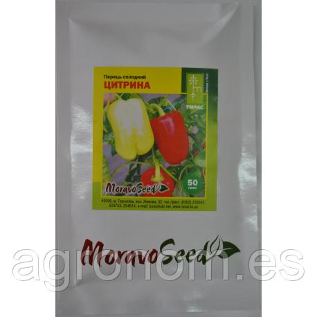 Семена перца сладкого Цитрина F1 50 грамм Moravoseed