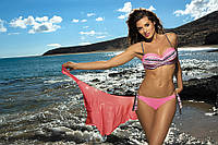 Раздельный купальник-бандо с волнистым рисунком m-299 Letitia MARKO разные расцветки , фото 1