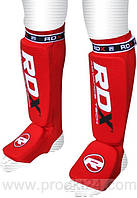 Накладки на ноги, защита голени RDX Soft Red-S